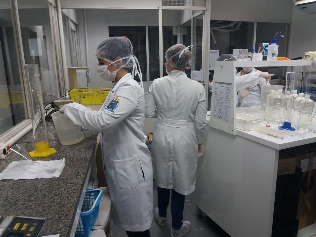 Faculdade de Farmácia - UFF contra COVI-19